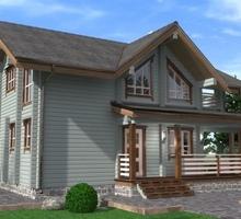 изображение проекта дома Дом из клееного бруса Ишим
