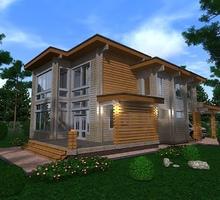 изображение проекта дома Проект дома из клееного бруса Чусовой