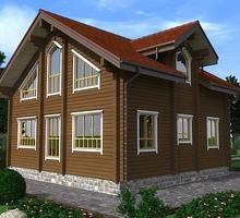 изображение проекта дома Проект дома из клееного бруса Дон Кихот