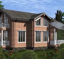 изображение проекта дома Проект дома из клееного бруса Гранд