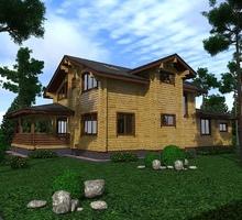изображение проекта дома Проект дома из клееного бруса Карсун