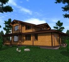 изображение проекта дома Проект дома из клееного бруса Кочево