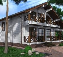 изображение проекта дома Проект дома из клееного бруса Лучистое