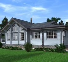 изображение проекта дома Проект дома из клееного бруса Новая Дача