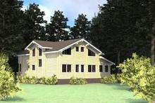 изображение проекта дома Проект дома из клееного бруса Здравница