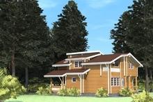 изображение проекта дома Проект дома из клееного бруса Федоровка