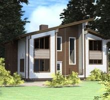 изображение проекта дома Проект дома из клееного бруса Галич