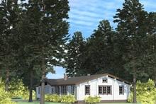 изображение проекта дома Проект дома на две семьи Зубрилово