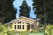 изображение проекта дома Проект дома на две семьи Зубрилово-2