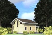 изображение проекта дома Проект дома из клееного бруса Куровское