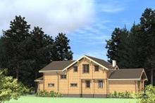 изображение проекта дома Проект дома из клееного бруса Арцах