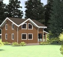 изображение проекта дома Проект дома из клееного бруса Заречное