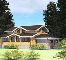 изображение проекта дома Проект дома из клееного бруса Камчатка