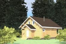 изображение проекта дома Проект дома из клееного бруса Лесные дали 2