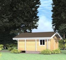 изображение проекта дома Проект дома из клееного бруса Луговое-2