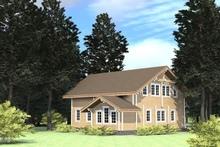 изображение проекта дома Проект дома из клееного бруса Марфино