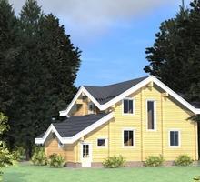 изображение проекта дома Проект дома из клееного бруса Ногинск