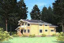 изображение проекта дома Проект дома из клееного бруса Наполеон