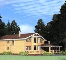 изображение проекта дома Проект дома из клееного бруса Новоселки
