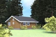 изображение проекта дома Проект дома из клееного бруса Озерный