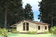 изображение проекта дома Проект дома из клееного бруса Покровские дачи