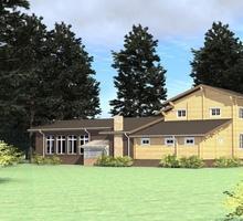 изображение проекта дома Проект дома из клееного бруса Родник