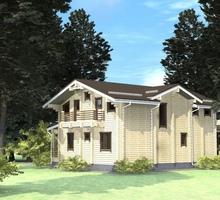 изображение проекта дома Проект дома из клееного бруса Сафоново