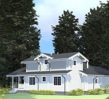 изображение проекта дома Проект дома из клееного бруса Старки 2