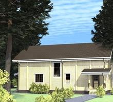 изображение проекта дома Проект дома из клееного бруса Ульяновка