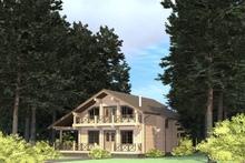 изображение проекта дома Проект дома из клееного бруса Васнецов Парк