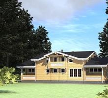 изображение проекта дома Проект дома на 2 семьи Крымск