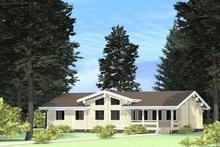 изображение проекта дома Проект дома из клееного бруса Купеческий