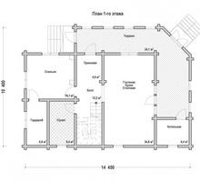 изображение проекта дома Проект дома из клееного бруса Березовая роща