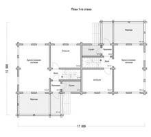изображение проекта дома Проект дома на 2 семьи Копцево