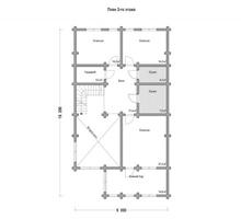 изображение проекта дома Проект дома из клееного бруса Луч