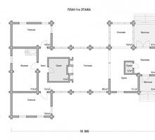 изображение проекта дома Проект дома из клееного бруса Валентиновка 4