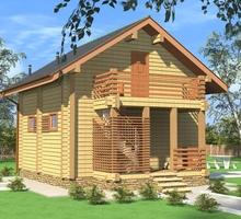 изображение проекта дома Проект дома из клееного бруса Алабино