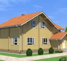 изображение проекта дома Проект дома из клееного бруса Авиационная
