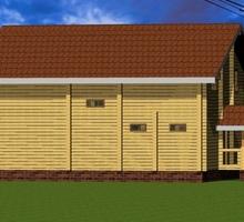 изображение проекта дома Проект дома из клееного бруса Барыбино