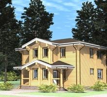изображение проекта дома Проект дома из клееного бруса Диана