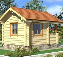 изображение проекта дома Проект дома из клееного бруса Городище