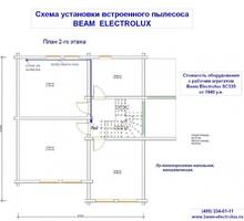 изображение проекта дома Проект дома из клееного бруса Юлия