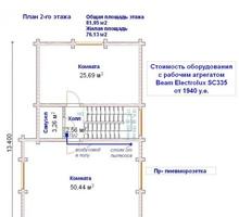 изображение проекта дома Проект дома из клееного бруса Княжье озеро