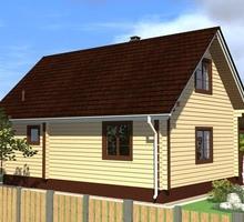 изображение проекта дома Проект дома из клееного бруса Корытово