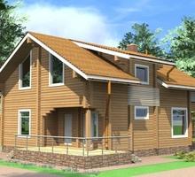 изображение проекта дома Проект дома из клееного бруса Ларёво