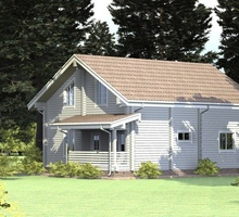 изображение проекта дома Проект дома из клееного бруса Марушкинское