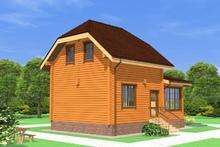 изображение проекта дома Проект дома из клееного бруса НИИ Радио