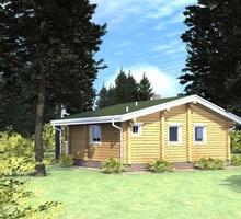 изображение проекта дома Проект дома из клееного бруса Печора