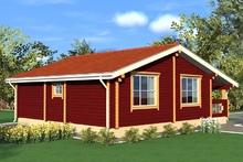 изображение проекта дома Проект дома из клееного бруса Полушкино