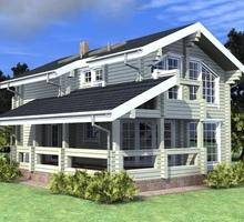 изображение проекта дома Проект дома из клееного бруса Рязань